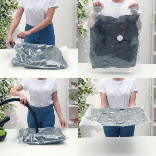 Вакуумный пакет для хранения одежды «Морской бриз», 70×100 см, ароматизированный