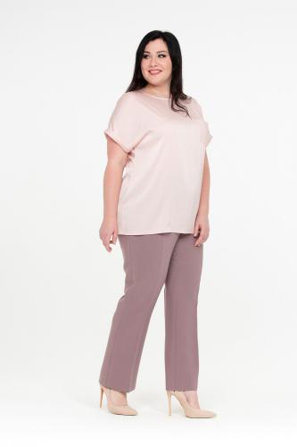 Блуза Олимпия 350р серо=роз