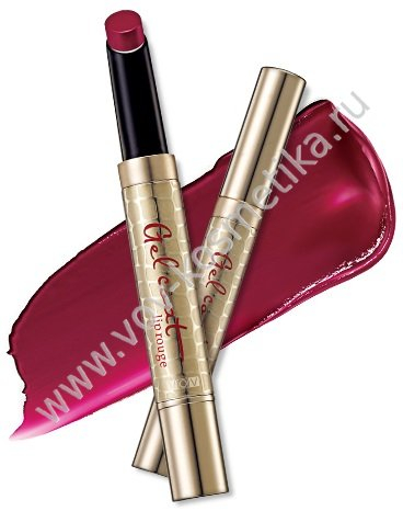 Помада гелевая VOV CastleDew Gel Coat Lip Rouge 1,9 g