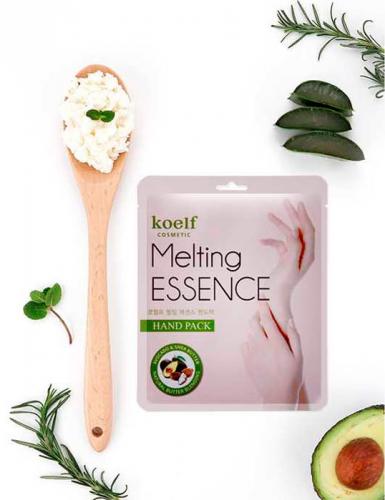 Маска-перчатки для рук cмягчающая Koelf Melting Essence Hand Pack 16gr