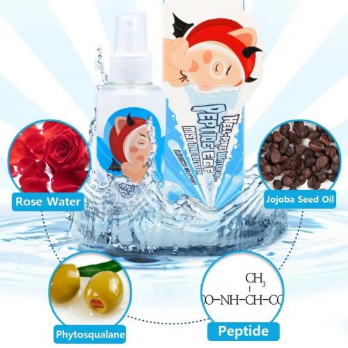 Мист для лица увлажняющий с пептидами ELIZAVECCA Milky Piggy Hell-Pore Water Up Peptide EGF Mist One Button 150 ml
