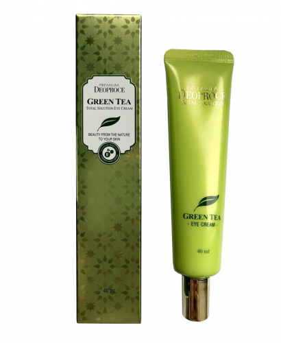 ББ-крем для лица с экстрактом зеленого чая Deoproce Premium Green Tea Total Solution BB Cream SPF50+ PA+++ 40 ml