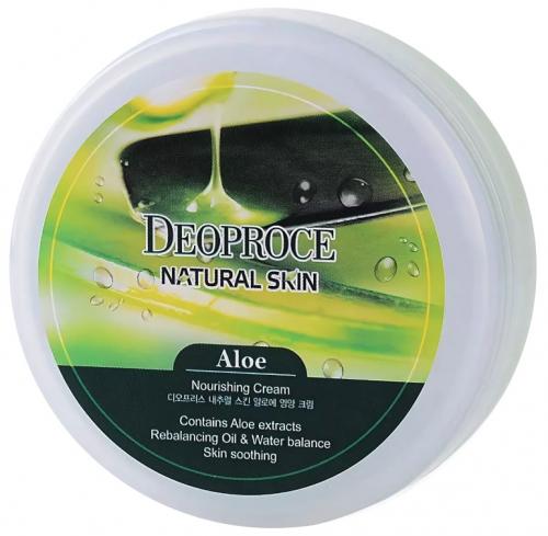DEOPROCE Крем для лица и тела с экстрактом алоэ Natural Skin Nourishing Cream Aloe 100 g
