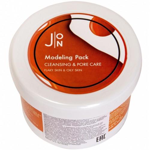 [J:ON] Альгинатная маска ОЧИЩЕНИЕ И СУЖЕНИЕ ПОР CLEANSING & PORE CARE MODELING PACK 18 ГР