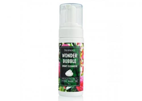 DEOPROCE Умная пенка для умывания с маслом камелии Wonder Bubble Smart Cleanser 150 ml