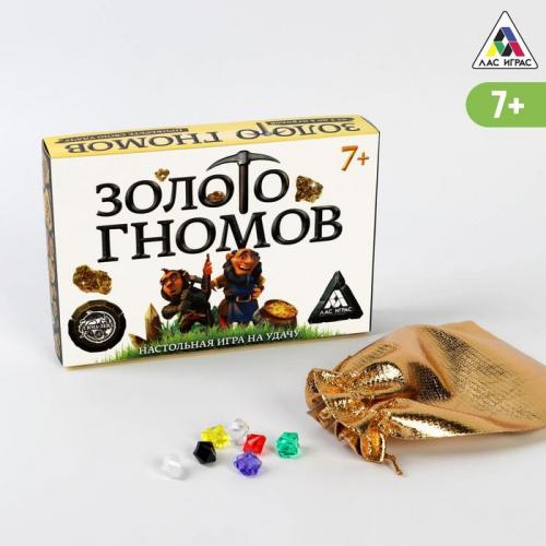 Настольная игра «Золото гномов» на удачу