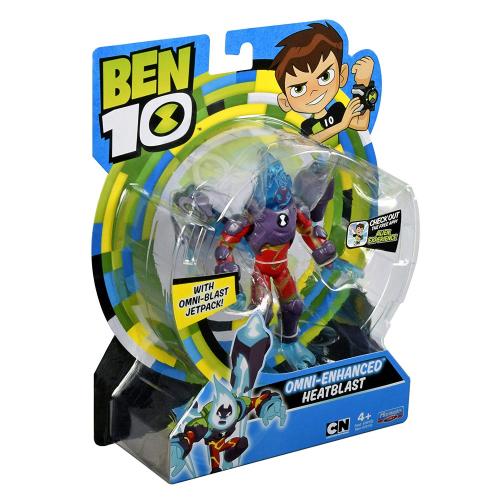 2  шт. доступно/Ben 10 Фигурка 12.5 см, Человек-огонь (омни-усиленный)