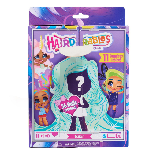 6  шт. доступно/Hairdorables. Кукла-загадка