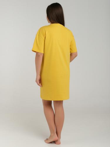 Туника женская желтый
