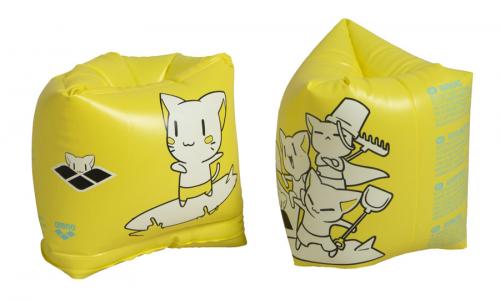 Нарукавники для плавания ROLL-UP ARMBAND yellow (20-21)