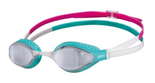 Очки для плавания AIRSPEED MIRROR silver-turquoise-multi (20-21)