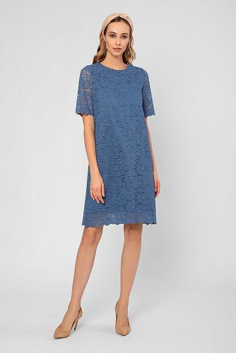 Платье #223075Серо-голубой