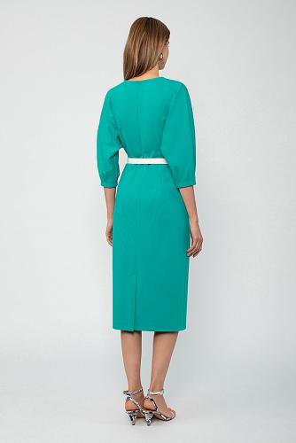 Платье #222992Бирюзовый