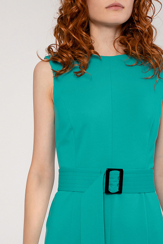 Платье #222989Бирюзовый