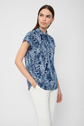 Блуза #222733мультиколор