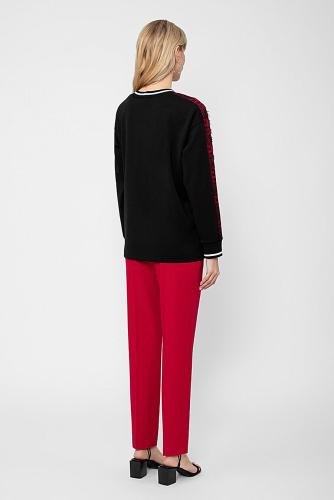 Блуза #222995Черный