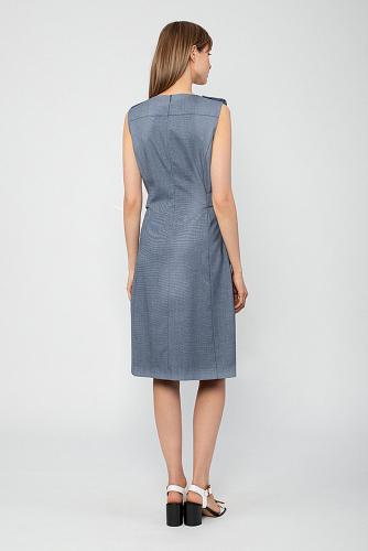 Платье #223083Индиго
