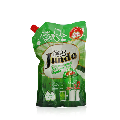 Jundo Конц-ный ЭКО гель с гиалуроновой кис-й д/м.п. и дет.принадлежностей«Green tea with Mint»,800мл