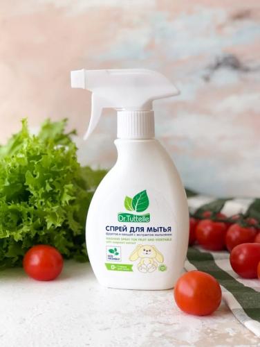 Dr.Tuttelle Спрей для мытья овощей и фруктов, 250мл