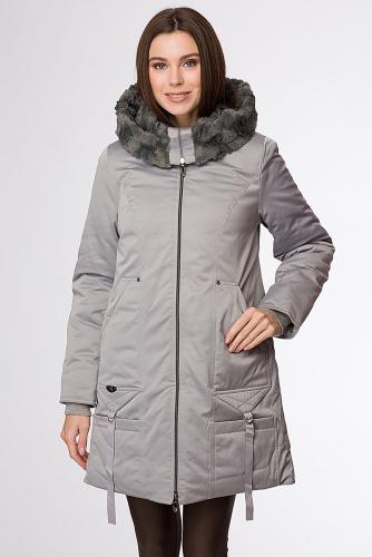 Пальто #90760Серый