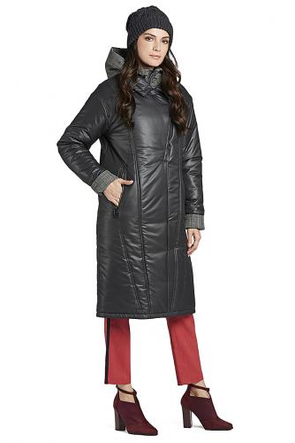 Пальто #147582Серый