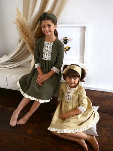 Платье МТ20-4 хаки