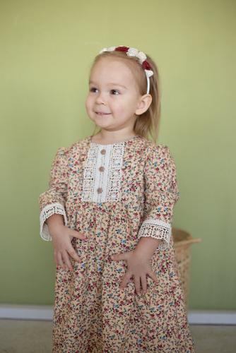 Платье МТ20-4 полянка