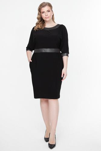 Платье #261550Черный/черный