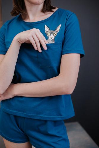 Неженка ПижамаТемно-синий