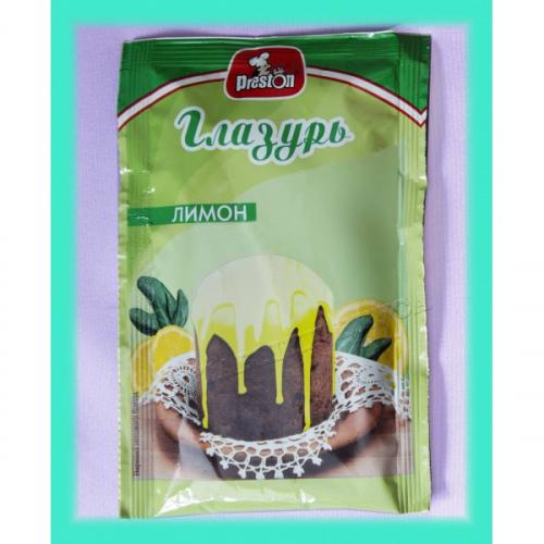 Глазурь с ароматом лимона 50 гр