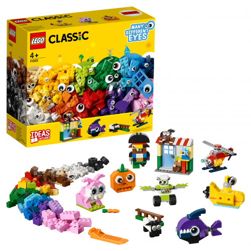 Конструктор LEGO Classic 11003 Кубики и глазки