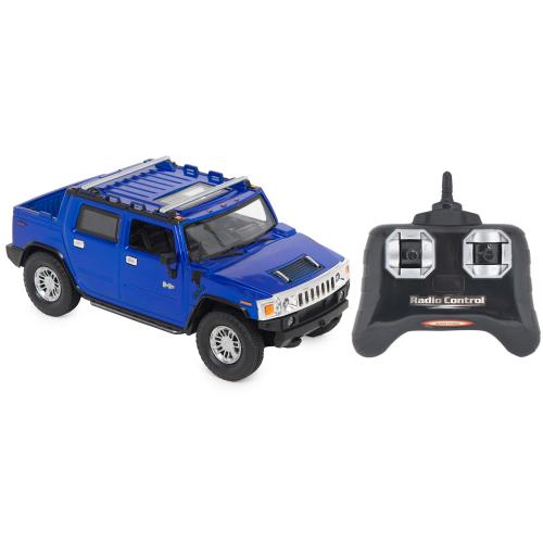 Машина на радиоуправлении Maxi Car HUMMER H2 SUT, цвет: синий 1 : 24