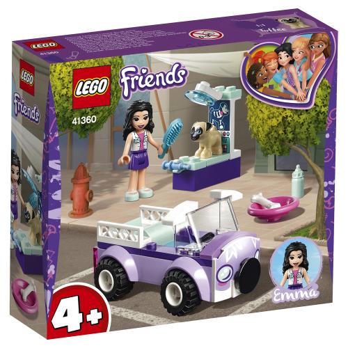 LEGO Friends 41360 Передвижная ветклиника Эммы Конструктор