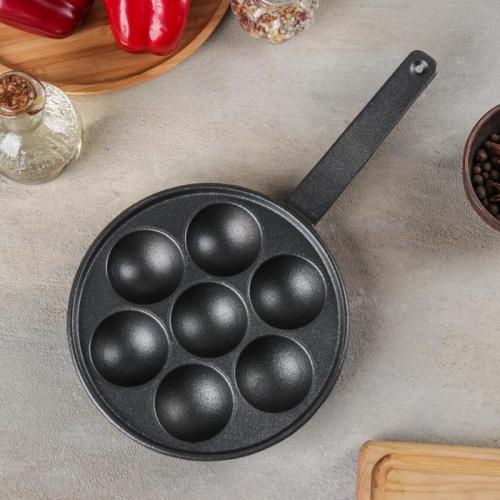 Сковорода «Сферос», d=20 см, 7 ячеек