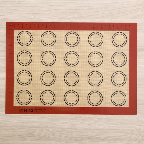 Коврик армированный для макаронс, 42×29,5 см