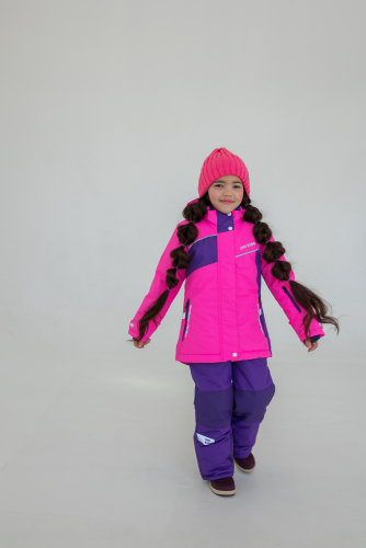 Костюм для девочки СЮЗАНА-фуксия/фиолет