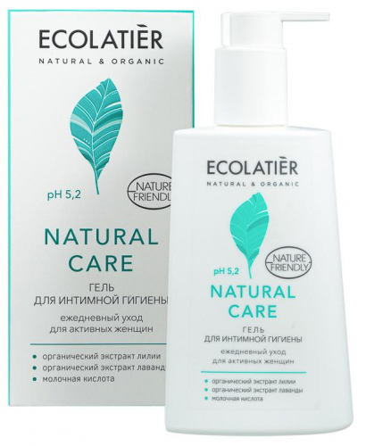 ECL/1500/ Гель для интимной гигиены Natural Care Ежедневный уход