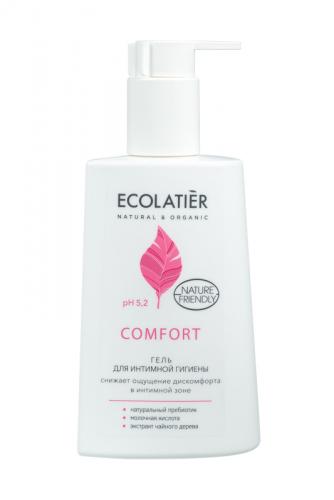 ECL/1517/ Гель для интимной гигиены Comfort с молочной кислотой и пробиотиком