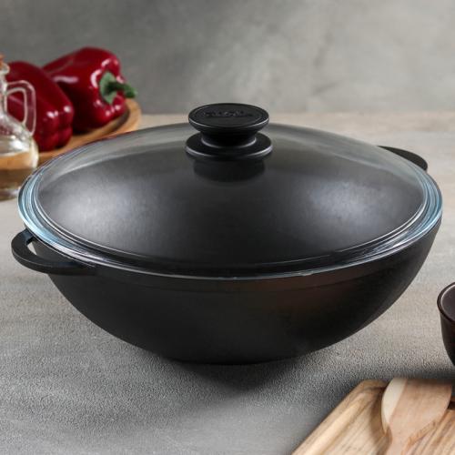 Сковорода чугунная 28 см