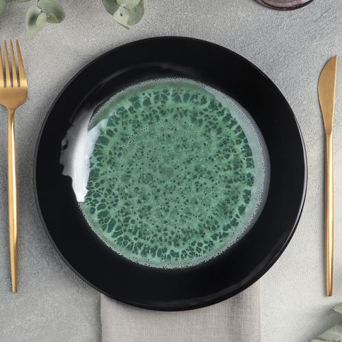 Тарелка «Verde notte», d=24 см
