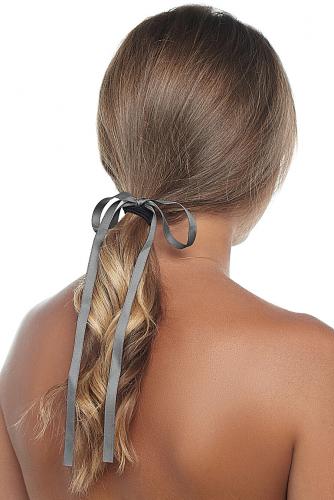 Резинка для волос #235146Серо-коричневый