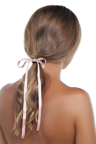 Резинка для волос #233339Бледно-розовый