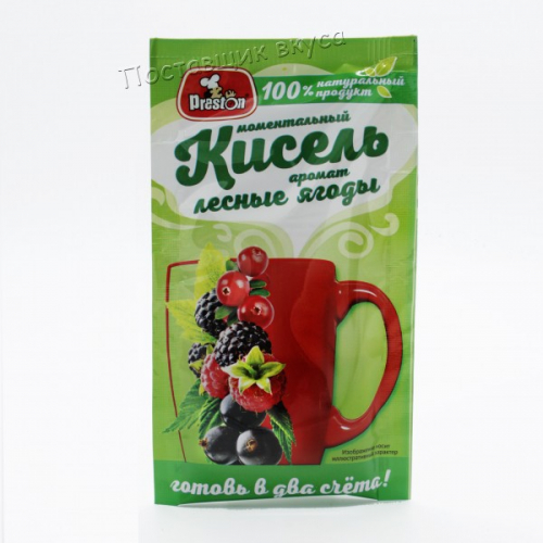 Моментальный Кисель Pr.Preston Лесные ягоды АРИКОN Артикул 0153