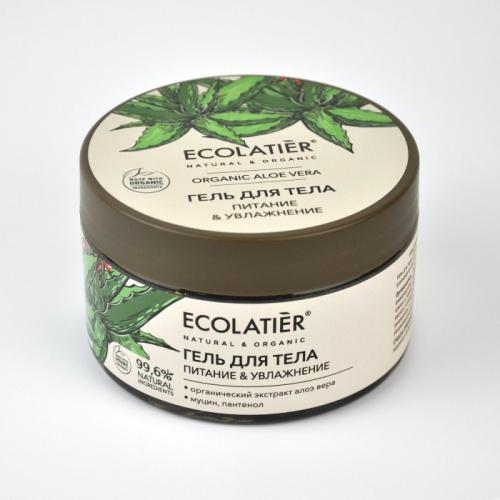 ECL GREEN Aloe Vera/3979/ Гель для тела Питание & Увлажнение , 250 мл