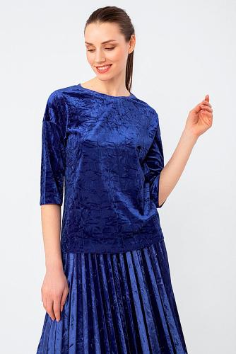 Блуза #305535Синий