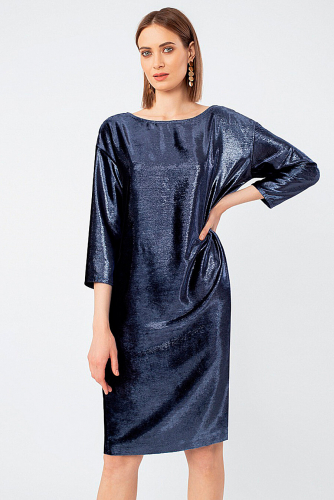 Платье #305230Синий