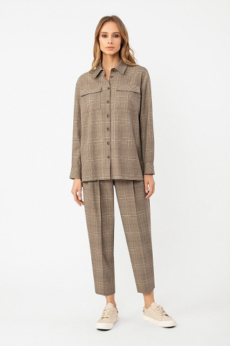 Жакет-рубашка #306013Мультиколор