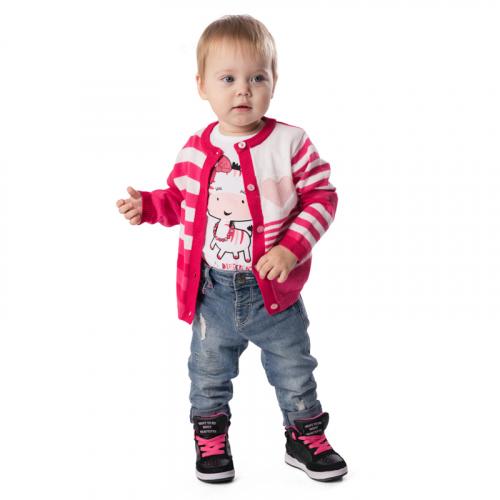 Кардиган детский трикотажный для девочек