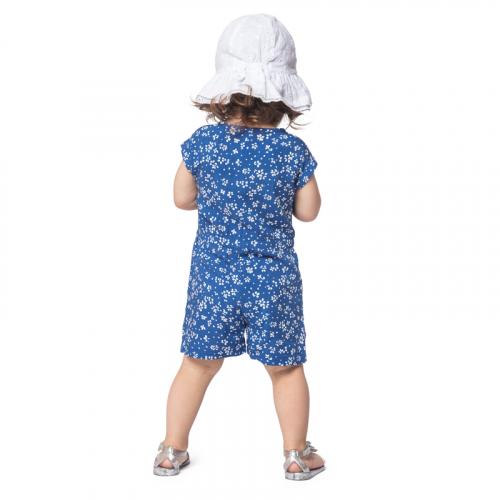 Комбинезон детский текстильный джинсовый для девочек