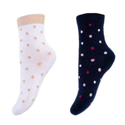 Носки трикотажные для девочек, 2 пары в комплекте